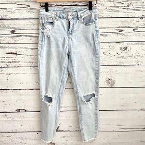 American Rag Light Wash Boyfriend Jeans SZ…